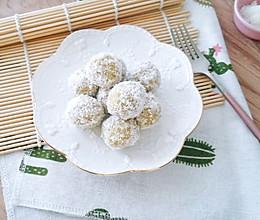 10M+椰香红薯夹心球:宝宝辅食营养食谱菜谱的做法
