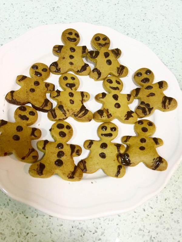 圣诞姜饼人(小朋友最爱饼干)的做法