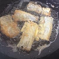 煎蒸带鱼的做法图解3