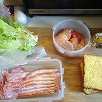 [汉堡实验室]鸡胸培根三明治的做法图解1