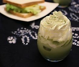 抹茶星冰乐|夏天最爱的一抹绿的做法