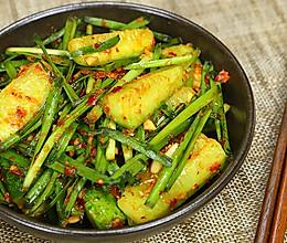韩国黄瓜韭菜泡菜的做法