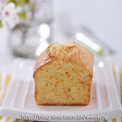橙香磅蛋糕