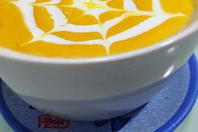 南瓜奶油浓汤