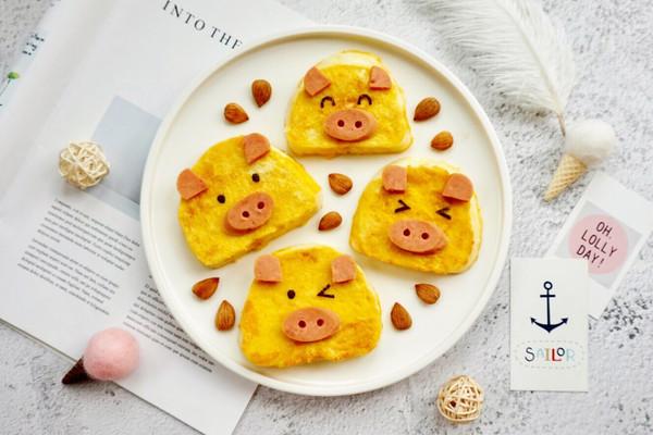 黄金小猪馒头片的做法
