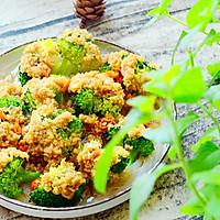 金蒜粉丝蒸西兰花-低脂健康好营养的做法图解16