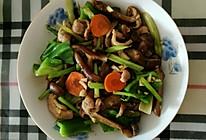 榛蘑炒麻椒