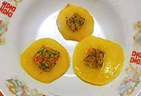 #麦子厨房#小红锅出品:宝宝下午茶-孔方果蔬饼的做法