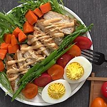 鸡胸肉简餐#春季减肥,边吃边瘦#