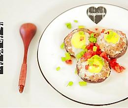香菇蒸蛋#爱的味道#的做法