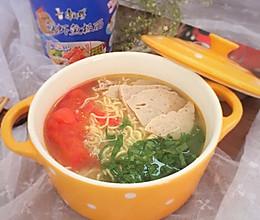 舌尖上的康师傅#小虾创意料理#的做法