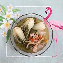#父亲节,给老爸做道菜#菜胆沙虫干煲猪腱肉