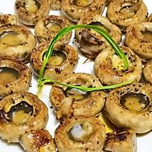 一口一个,太满足《黑椒黄油香煎口蘑》