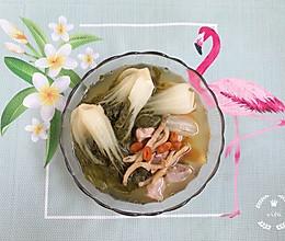 #父亲节,给老爸做道菜#菜胆沙虫干煲猪腱肉的做法