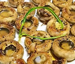 一口一个,太满足《黑椒黄油香煎口蘑》的做法