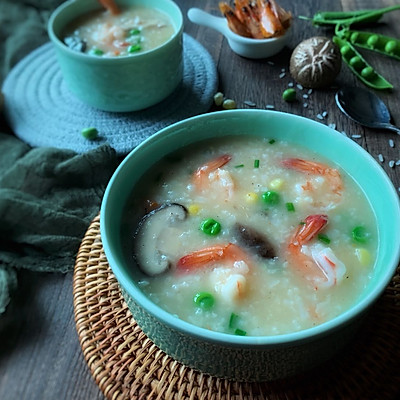 秀出你的早餐—海鲜粥