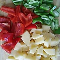 红烧土豆块的做法图解3