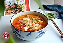 金针菇番茄豆腐汤的做法