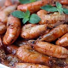 蒜泥蚝油沼虾