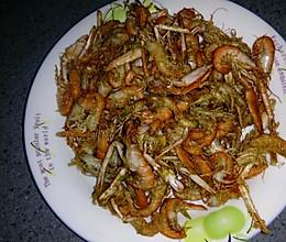 香炸小虾的做法
