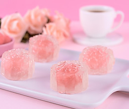 水晶玫瑰月饼的做法