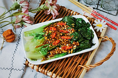蒜蓉蚝油生菜