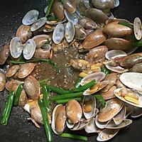 姜葱炒花甲(路飞酱的海鲜宴)的做法图解8