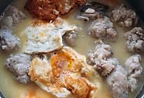 鲜到不行的鲫鱼丸子木瓜汤的做法