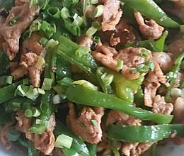 孕妇食谱(青椒炒肉)的做法