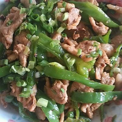 孕妇食谱(青椒炒肉)