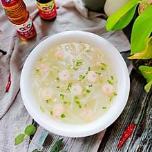 #下饭红烧菜#清淡甘甜的虾仁白萝卜汤