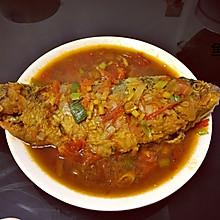 茄汁鱼(鲫鱼)