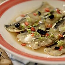 豆豉蒸鲶鱼