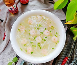 #下饭红烧菜#清淡甘甜的虾仁白萝卜汤的做法