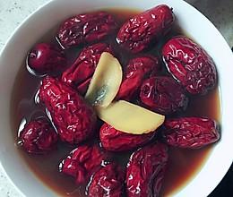 生理期必备_————生姜红糖红枣水的做法