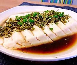 香椿蒸豆腐的做法