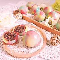 梦幻彩红蜜红豆糯米糍 Q弹软糯和菓子麻薯小吃零食下午茶的做法图解14