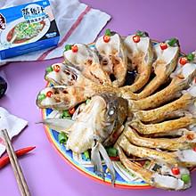 #美食视频挑战赛# 孔雀开屏清蒸鱼