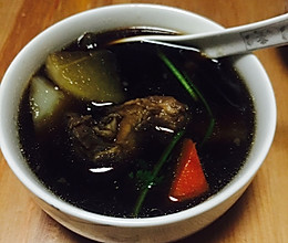 四物汤炖排骨的做法