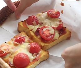 玛格丽特吐司披萨的做法