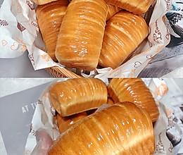 一次发酵美味咸面包|芝士肉松小吐司面包的做法