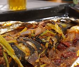 麻辣锡纸烤鱼的做法