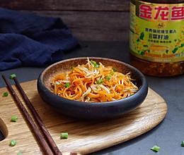 清炒豆芽胡萝卜#金龙鱼营养强化维生素A 新派菜油#的做法