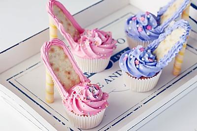 芭比高跟鞋杯蛋糕