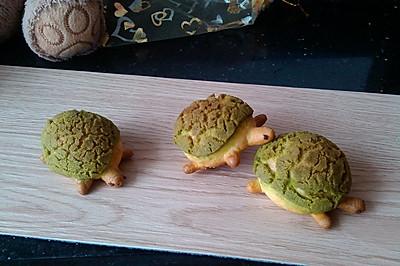乌龟酥皮泡芙#长帝烘焙节华东赛区#