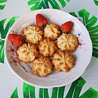 家庭网红版云顶黄油曲奇饼干,简单零失败,美味与颜值共存!的做法图解15