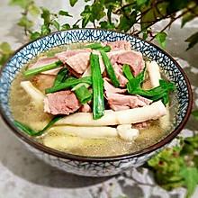 鲜笋老鸭汤