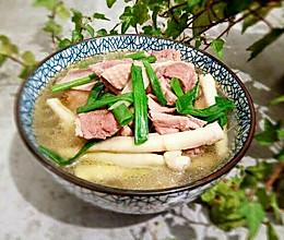 鲜笋老鸭汤的做法