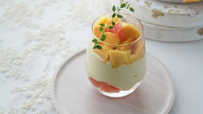 快手甜点--芒果晶晶杯的做法