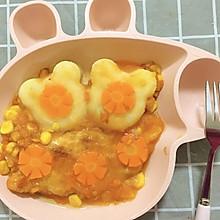 儿童营养鸡排餐